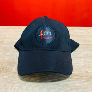 Hat with Red Parrot - Parrot Espresso Bar brand