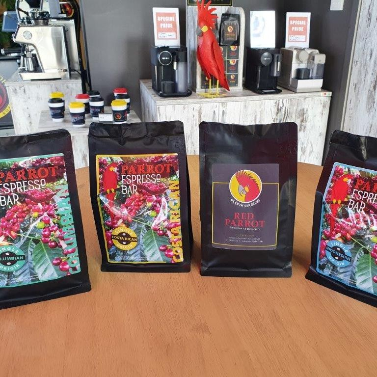 Tasting pack of coffees