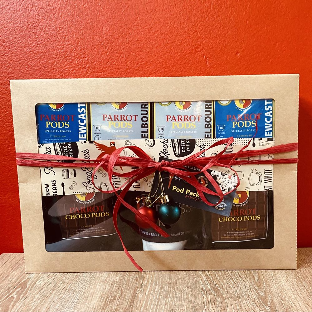 Red Parrot Coffee Pod Gift Pack