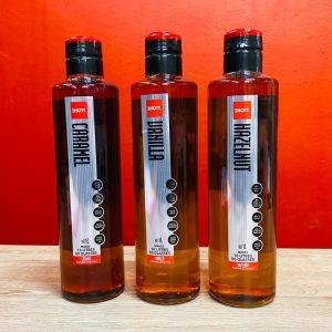 Shott Flavour Syrups - Caramel, Hazelnut and Vanilla