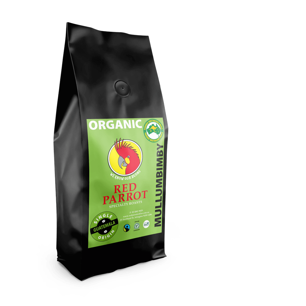Mullumbimby Organic Coffee by Red Parrot