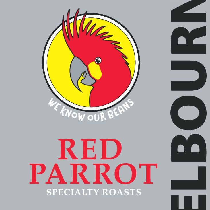 Red Parrot premium coffee - Melbourne blend