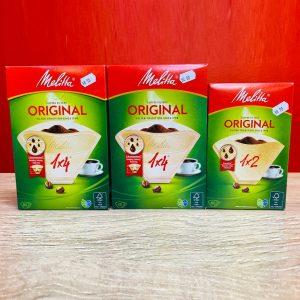 Mellita® Original Coffee Filters in various sizes
