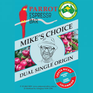 Mike's Choice of coffee blend - blue