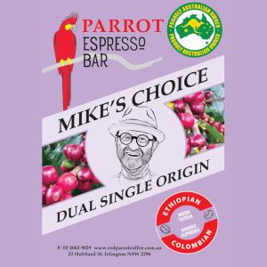 Dual Single Origin coffee blend - Mike's Choice Purple