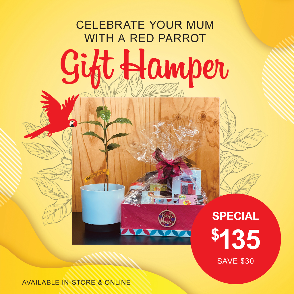 Red Parrot Coffee Mother's Day Gift Pack