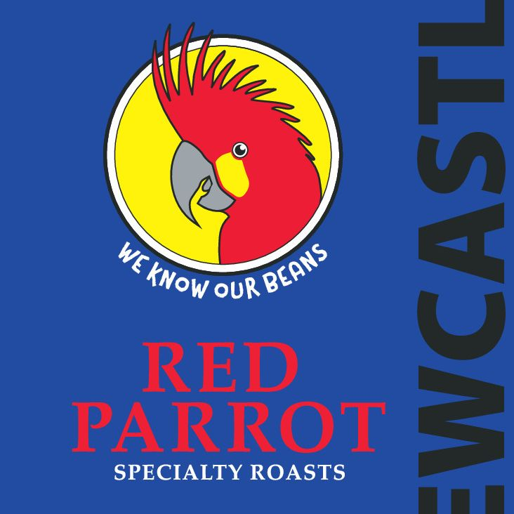 Red Parrot premium coffee - Newcastle blend