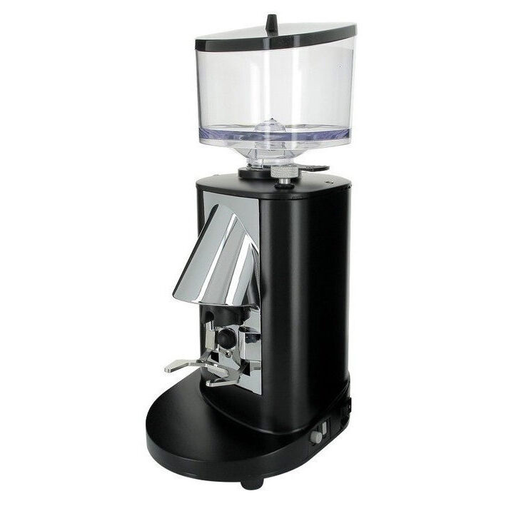 On demand MDH coffee grinder in black by Nuova Simonelli