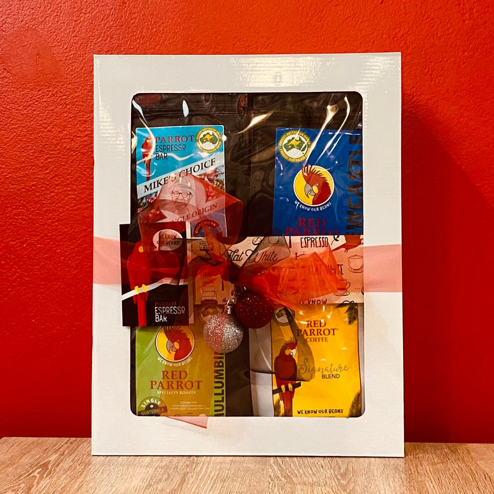 Parrot Gold Coffee Gift Pack by Red Parrot