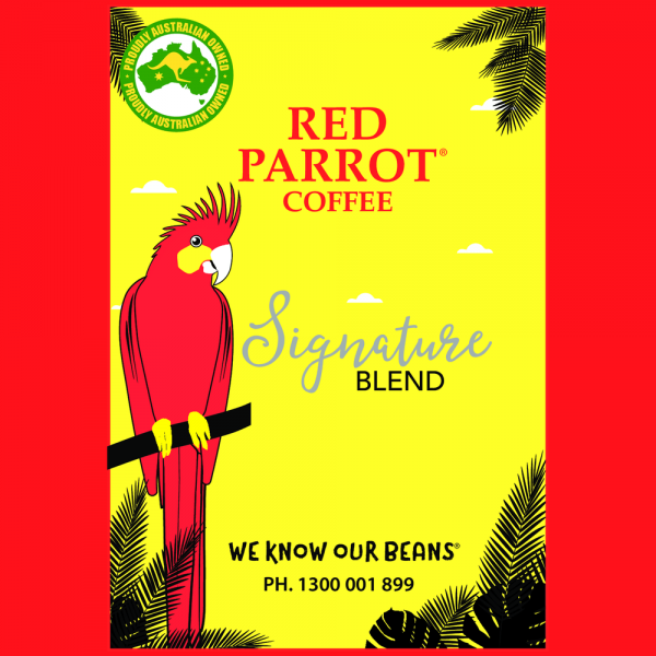 Red Parrot Signature Premium Blend Coffee Beans