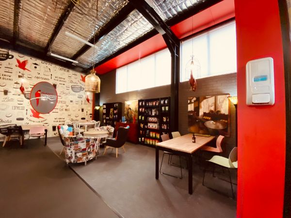 Red Parrot Coffee meeting room for hire, Newcastle