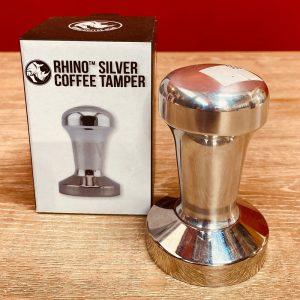 Silver Coffee Tamper - Rhino