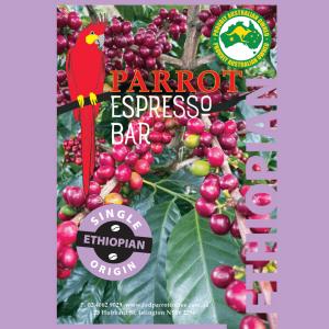 Ethipian single origin coffee