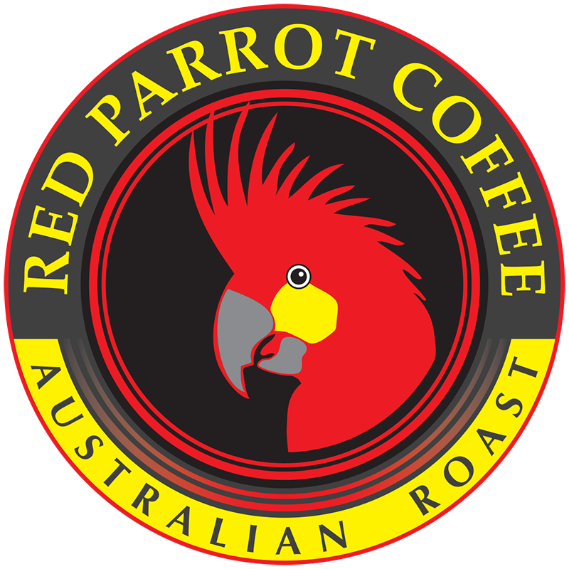 Red Parrot Coffee Australian Roast logo